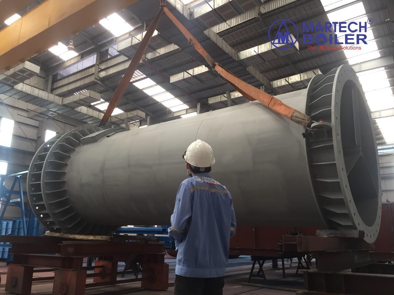 Thi công thiết bị hệ thống ducting tại Martech