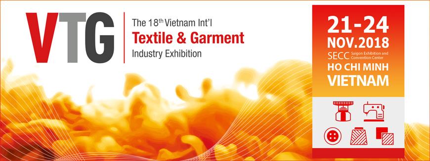 Triển lãm Quốc tế về Máy Móc Thiết Bị Nguyên Phụ Liệu Dệt May tại Việt Nam 2018